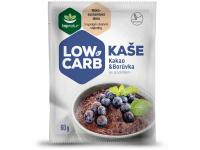 TOPNATUR Low carb kaše Kakao a borůvka 60 g