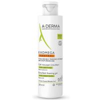 A-DERMA Exomega Control Zvláčňující pěnivý gel 200 ml