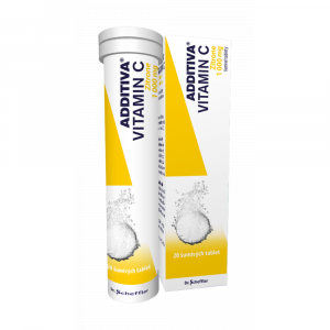 ADDITIVA Vitamín C Zitrone 20 šumivých tablet