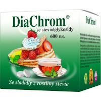 DIACHROM Se stévií 600 tablet