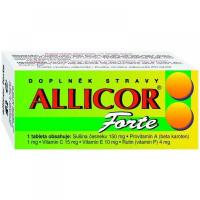 NATURVITA Allicor forte česnek 60 tablet