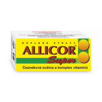 NATURVITA Allicor super česnek + vitamin 60 tablet