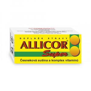 NATURVITA Allicor super česnek + vitamin 60 tablet