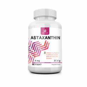 ALLNATURE Astaxanthin 60 kapslí