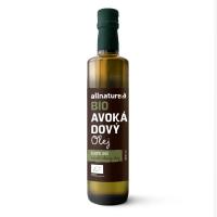 ALLNATURE Avokádový olej 250 ml BIO