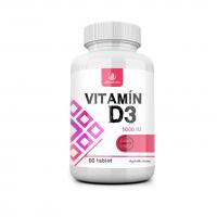 ALLNATURE Vitamín D3 1000 IU 60 tablet