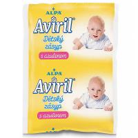 ALPA Aviril dětský zásyp s azulenem sáček 100 g