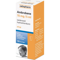 AMBROBENE 15 mg/5 ml sirup 100 ml