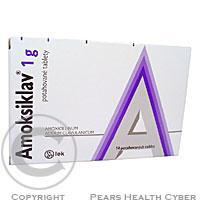 AMOKSIKLAV 1 G  14X1GM Potahované tablety