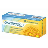 ANALERGIN  50X10MG Potahované tablety