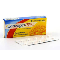 ANALERGIN Neo 5mg 10x5mg tablety