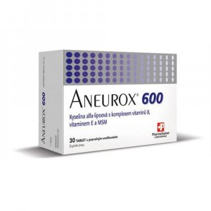 ANEUROX 600 PharmaSuisse 30 tablet