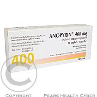 ANOPYRIN 400 mg 10 tablet