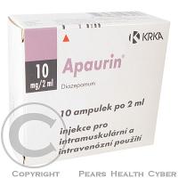 APAURIN  10X2ML/10MG Injekční roztok