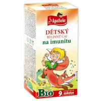 APOTHEKE Dětský čaj na imunitu BIO 20x1,5 g