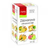 APOTHEKE Zázvorovo citrusové čaje 4v1 20x2 g