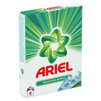ARIEL Mountain Spring Prací prášek 4 praní 300 g