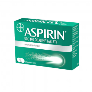 ASPIRIN 500 mg 20 obalených tablet