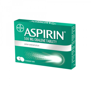 ASPIRIN 500 mg 8 obalených tablet