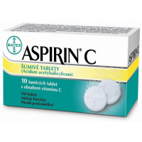 ASPIRIN C šumivé tablety 10 kusů