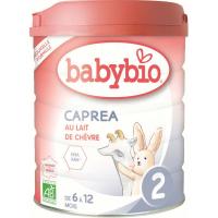 BABYBIO Caprea 2 pokračovací plnotučné kozí kojenecké mléko od 6-12 měsíce 800 g  BIO