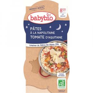 BABYBIO Neapolské těstoviny 2x200 g