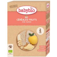 BABYBIO Nemléčná rýžová kaše s quinoou a ovocem BIO 200 g