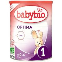 BABYBIO Optima 1 kojenecké bio mléko 400 g