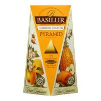 BASILUR Fruit Infusions Caribbean Cocktail 1+1 ZDARMA