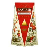 BASILUR Fruit Infusions Strawberry 1+1 ZDARMA