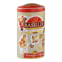 BASILUR Vintage Style Merry Christmas černý sypaný čaj 100 g