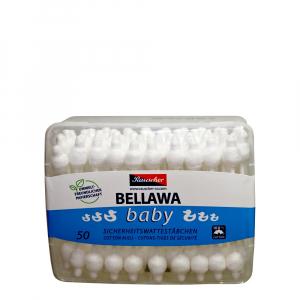 BELLAWA Vatové tyčinky pro kojence 50 ks