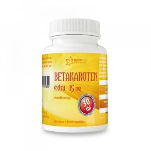 NUTRICIUS Betakaroten Extra 15 mg 30 tablet