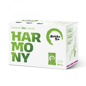 BIO MATCHA TEA Harmony jemně mletý zelený čaj 30x2 g