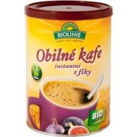 BIOLINIE Instantní obilné kafe s fíky 100 g