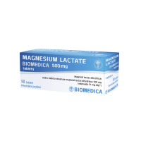 BIOMEDICA Magnesium Lactate 500 mg 50 tablet