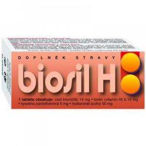 NATURVITA Biosil H vlasy a pokožka 60 tablet