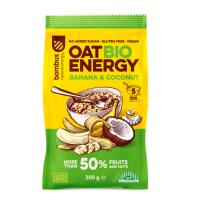 BOMBUS Oat energy banana & coconut ovesná kaše 300 g BIO