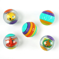 BRIGHT STARTS Hračka Shake & Spin Activity Balls™, 3m+