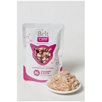 BRIT CARE Cat kapsa Chicken & Duck Pouch 80 g