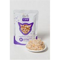 BRIT CARE Cat kapsa KITTEN Chicken & Cheese Pouch 80 g
