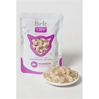 BRIT CARE Cat kapsa Seabream Pouch 80 g