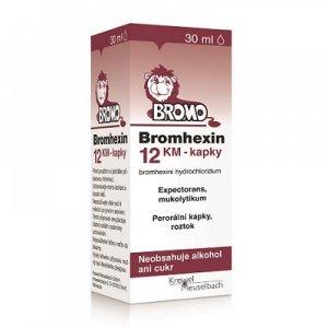 BROMHEXIN 12 KM kapky 30 ml