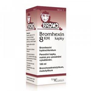 BROMHEXIN 8 KM kapky 100 ml