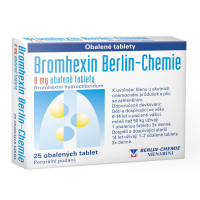 BROMHEXIN 8 mg 25 tablet