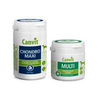 CANVIT Chondro Maxi 230 g + Multi pro psy 100 g