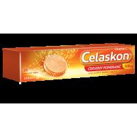 CELASKON Červený pomeranč šumivé tablety 500 mg 20 tablet