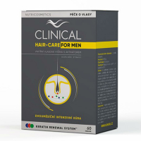 CLINICAL Hair-Care for Men 60 tobolek 2 MĚSÍČNÍ kúra