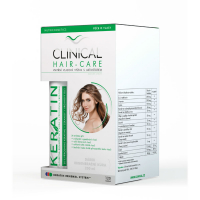 CLINICAL Hair-Care 120 tobolek + keratin 100 ml 4 MĚSÍČNÍ kúra