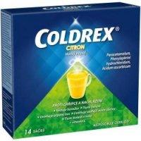 COLDREX Horký nápoj citron prášek pro roztok 14 sáčků